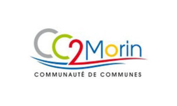 Logo Communauté de communes des 2 Morin